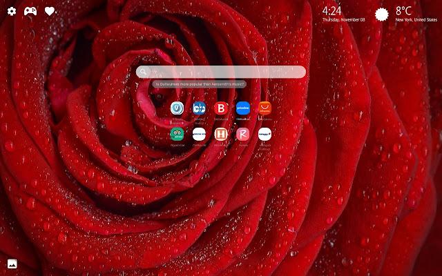 Flowers Wallpaper  HD New Tab Theme