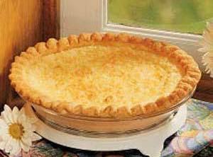French Coconut Pie Recipe