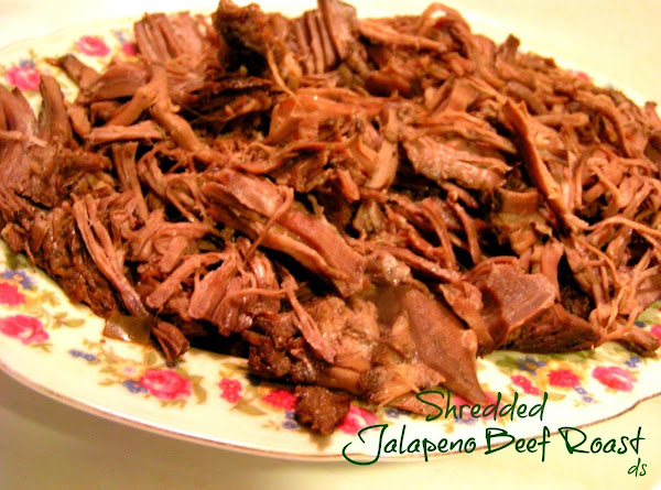 Crockin' Good Shredded Jalapeno Beef Roast Recipe