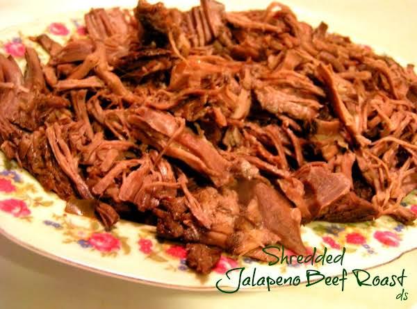Crockin' Good Shredded Jalapeno Beef Roast
