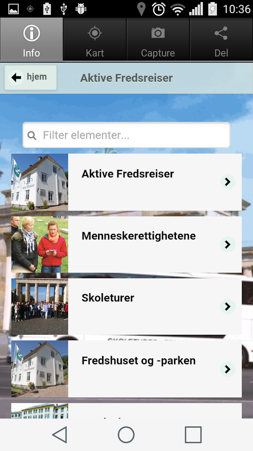 Aktive Fredsreiser- screenshot