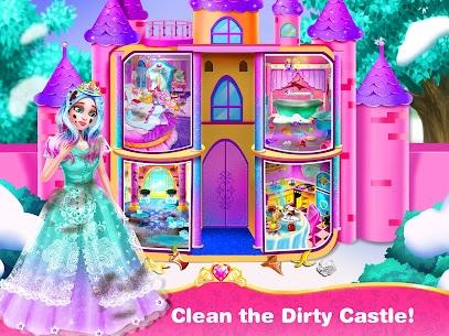 الأميرة تحب التنظيف – لعبة منزل الفتاة اللعب 2