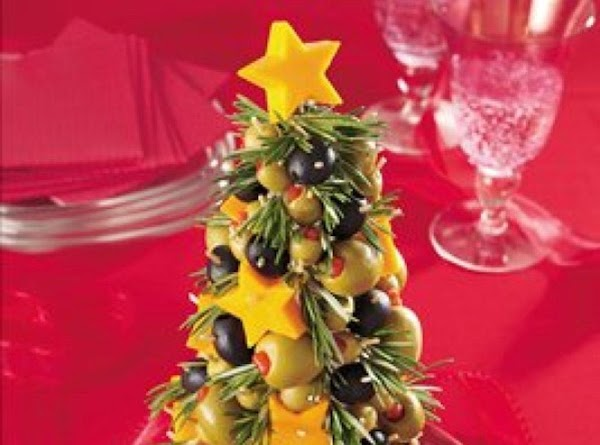 Cheese & Olive Appetizer Tree Recipe
