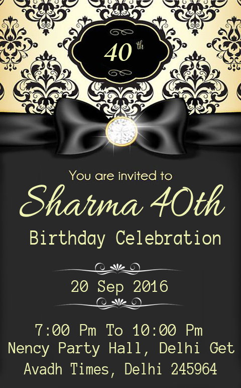 Birthday invitation card maker android apps on google play birthday invitation card maker screenshot stopboris Images