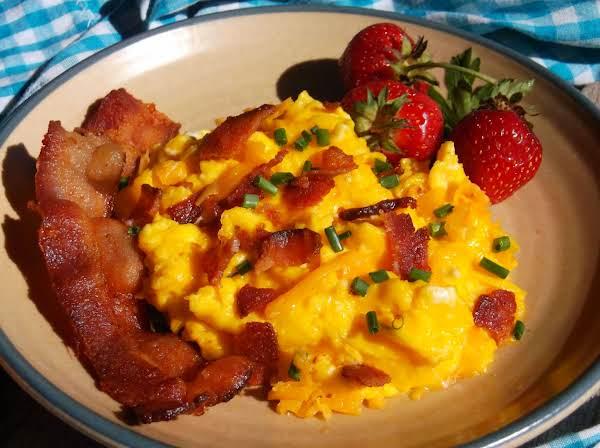 Bacon Egg & Cheese Scramble