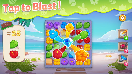 Ohana Island: Blast flowers and build  screenshots 5