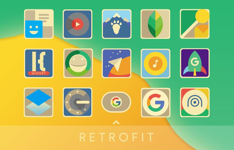 Retrofit Icon Pack Screenshot
