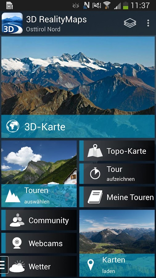 3D Outdoor Guides – Capture d'écran