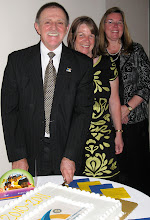 Photo: New President of the Rotary Club of DeBary- Deltona, Dennis Micare, his first Lady Jackie, and new District Governor Cynde Covington, at the Annual Installation and Awards Banquet on June 5, 2010 (picture courtesy of Mark Van Fleet - Thanks Mark!)