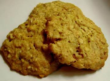 Chewy butterscotch oatmeal cookies