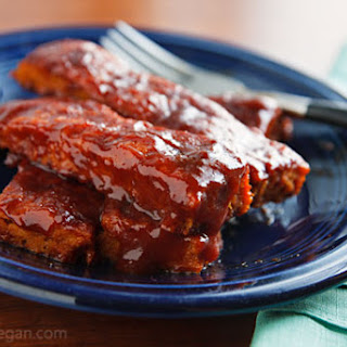Barbecued Seitan Ribz (Vegan Ribs) Recipe