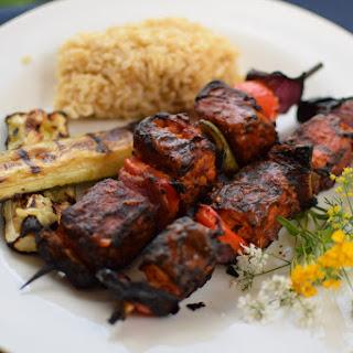 Vegan Shish Kabobs - Lebanese Shish Taouk.
