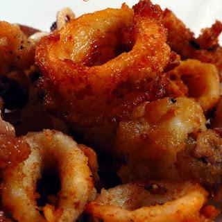 Crispy Fried Calamari (Squid Fry).