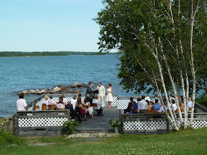 Photo: Wedding on the deck
