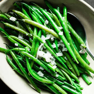 Perfect Green Beans.