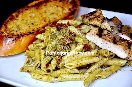 Chicken Pesto Pasta Recipe