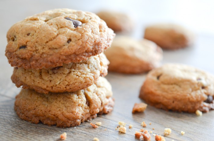 Bacon, Bourbon and Peanut Butter Cookies Recipe