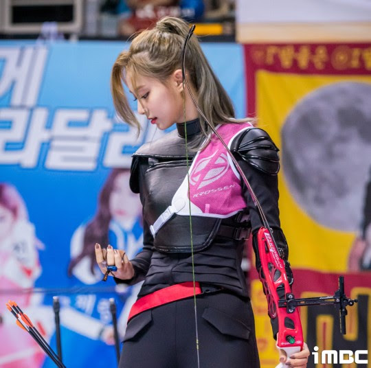 twice tzuyu archery1