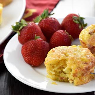 Bacon, Potato, & Cheese Mini Frittatas (Egg Muffins)