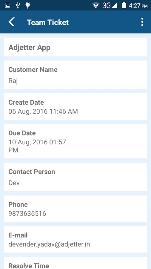 Kapdesk Service CRM- screenshot