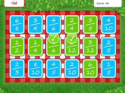 Squeebles Fractions- screenshot thumbnail