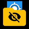 Hide Mock Locations icon