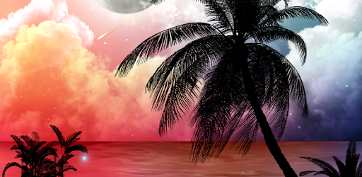 Tropical Night Live Wallpaper Apps On Google Play