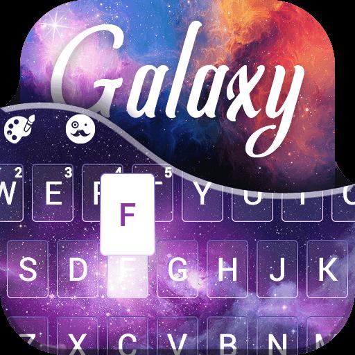 Galaxy Universe Keyboard Theme
