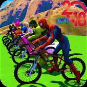 Tải Superhero Bmx Stunt Racing miễn phí