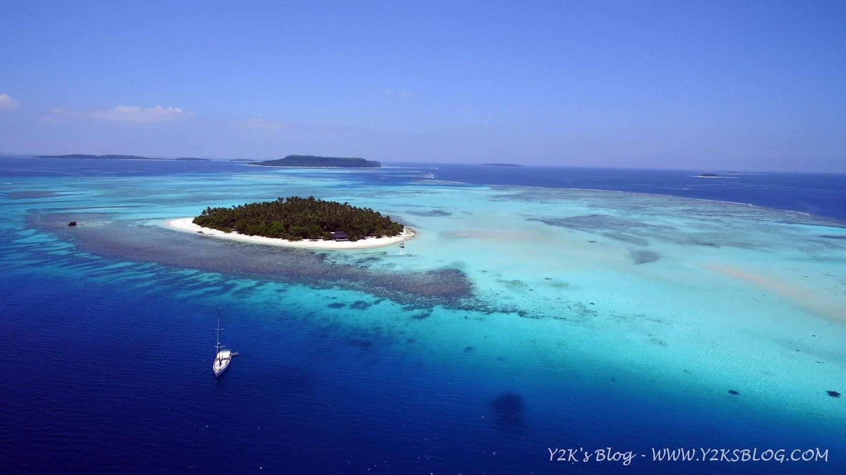 Y2K alla boa davanti a Mounu Island - Vava'u
