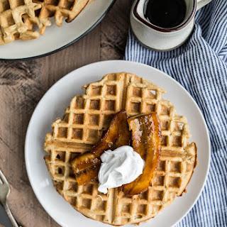 Gluten-Free Bananas Foster Waffles