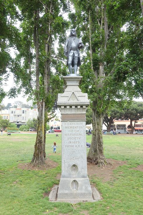 Benjamin Franklin Memorial - Washington Square