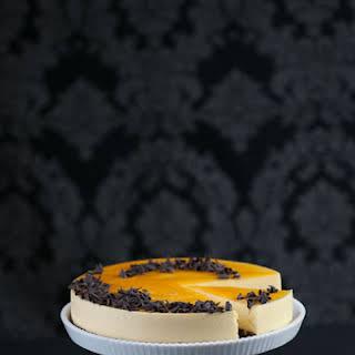 Passion fruit Mousse Cake.