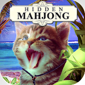 Hidden Mahjong - Cats Tropical Island Vacation