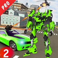 Real Robot Car Transform Fighting Pro