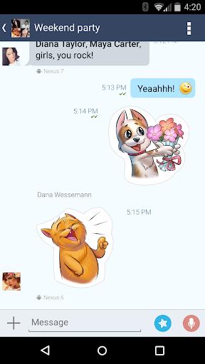 4talk Messenger 2.0.79 screenshots 7