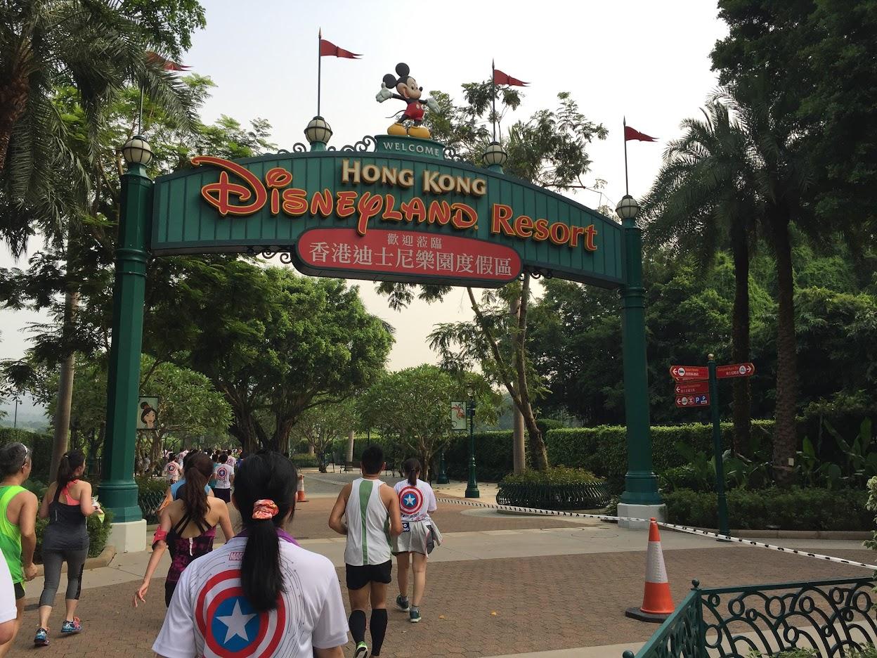 Disneyland 10K Run