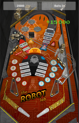 Pinball: The Robot Lab