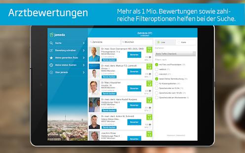 Arztsuche jameda- screenshot thumbnail