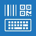Barcodescanner Keyboard + NFC icon