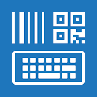 Barcodescanner Keyboard + NFC icon