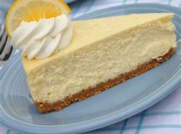 Luscious Lemon Cheesecake Recipe