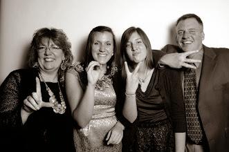 Photo: Curt '87, Shellie Smith '87, Lauren '14 and Katie Schwanke
