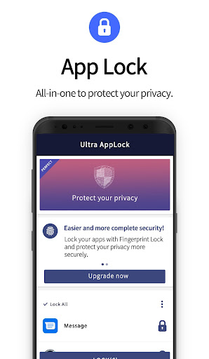 Ultra AppLock-Ultra AppLock protects your privacy. - screenshot