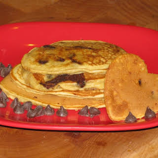 Skinny Girl Chocolate Chip Pancakes- 74 calories.