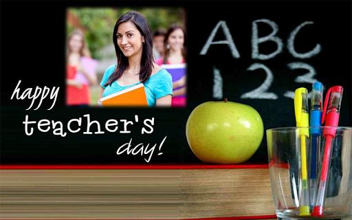Happy Teachers Day Wish Photo Frame Maker 1.1 screenshots 4