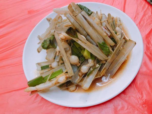 嘉義-布袋漁港吃什麼? 奇怪生物 竹蟶 ~~~~~