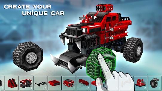 Blocky Cars Online Mod Apk 7.7.1 (Unlimited Ammo + God Mode) 2