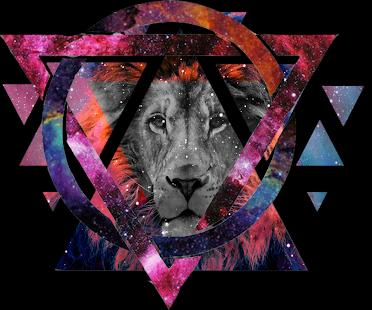 Hipster Wallpaper Galaxy Lion