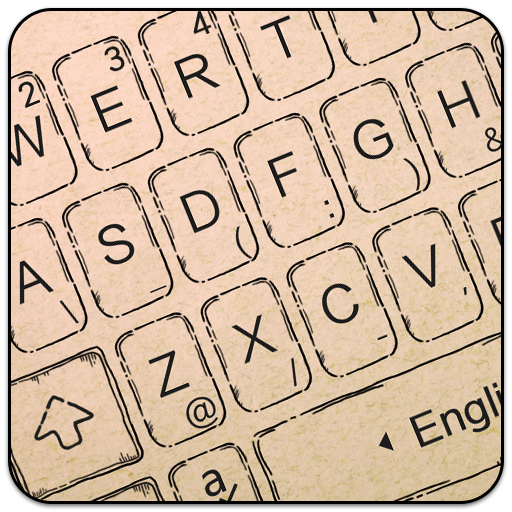 Hand Drawing Style Keyboard Theme